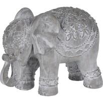 Koopman Dekorativní Africký slon, 15,5 cm