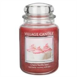 Village Candle Vonná svíčka Višeň a vanilka - Cherry Vanilla Swirl, 645 g