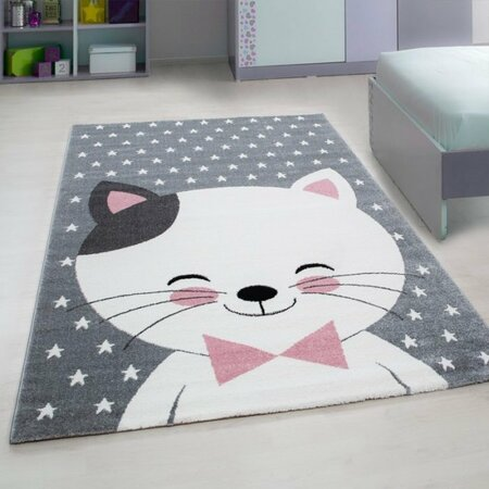 Kusový dětský koberec Kids 550 pink, 80 x 150 cm