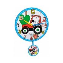 Twins 10411 traktor nástenné hodiny detské