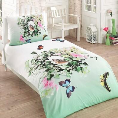 Bavlnené obliečky Butterfly 3D Exclusive, 140 x 200 cm, 70 x 90 cm