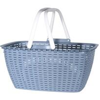 Nákupný košík Ratan, modrá