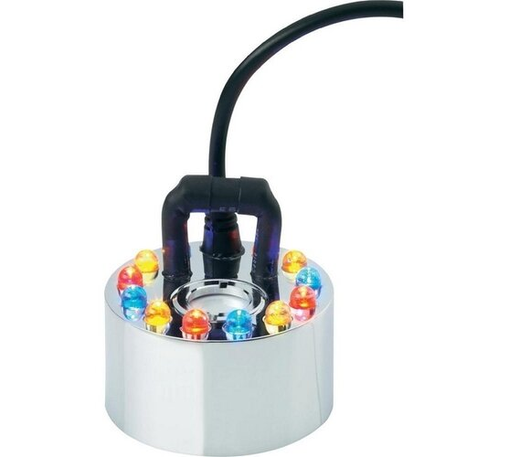 Mini dymostroj s 12 LED
