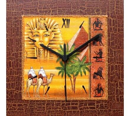 Nástěnné hodiny vzpomínka na Egypt
