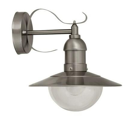 Venkovní nástěnné svítidlo Rabalux Oslo 8270 ocel/