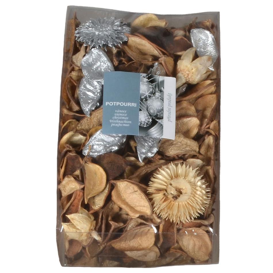 Vonná směs Potpourri Vánoce stříbrná, 130 g