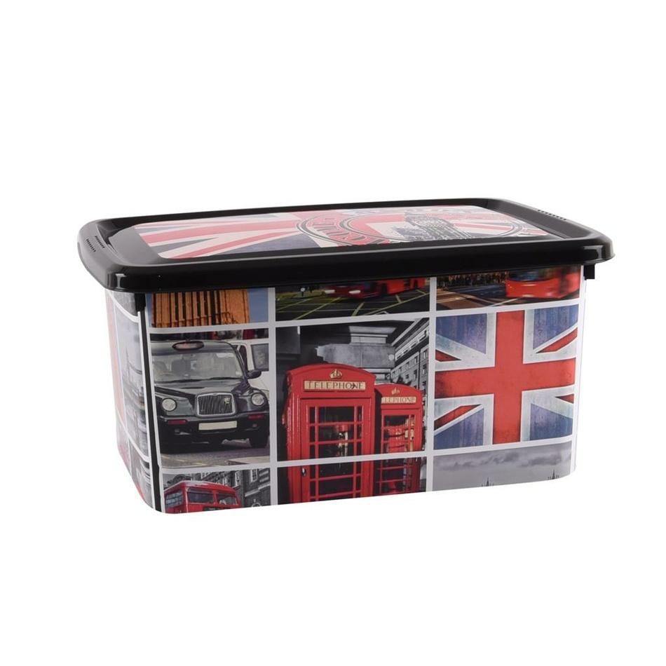 Orion Box s víkem Londýn, 4 l
