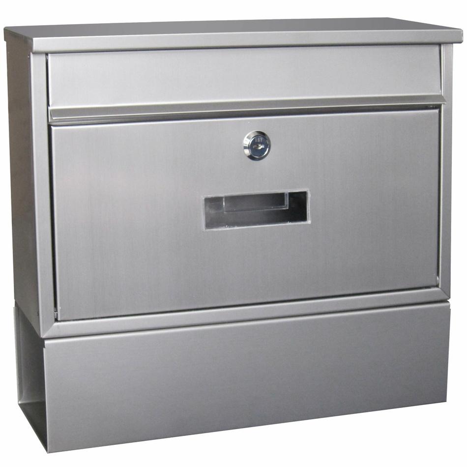 Poštovní schránka TX160 nerez, 32x36x9 cm