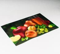 Prostírání 3D Ovoce , sada 8 ks, vícebarevná