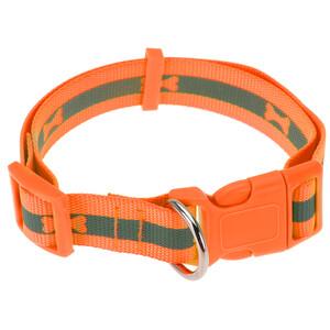 Obojek pro psa Neon oranžová, vel. L, L