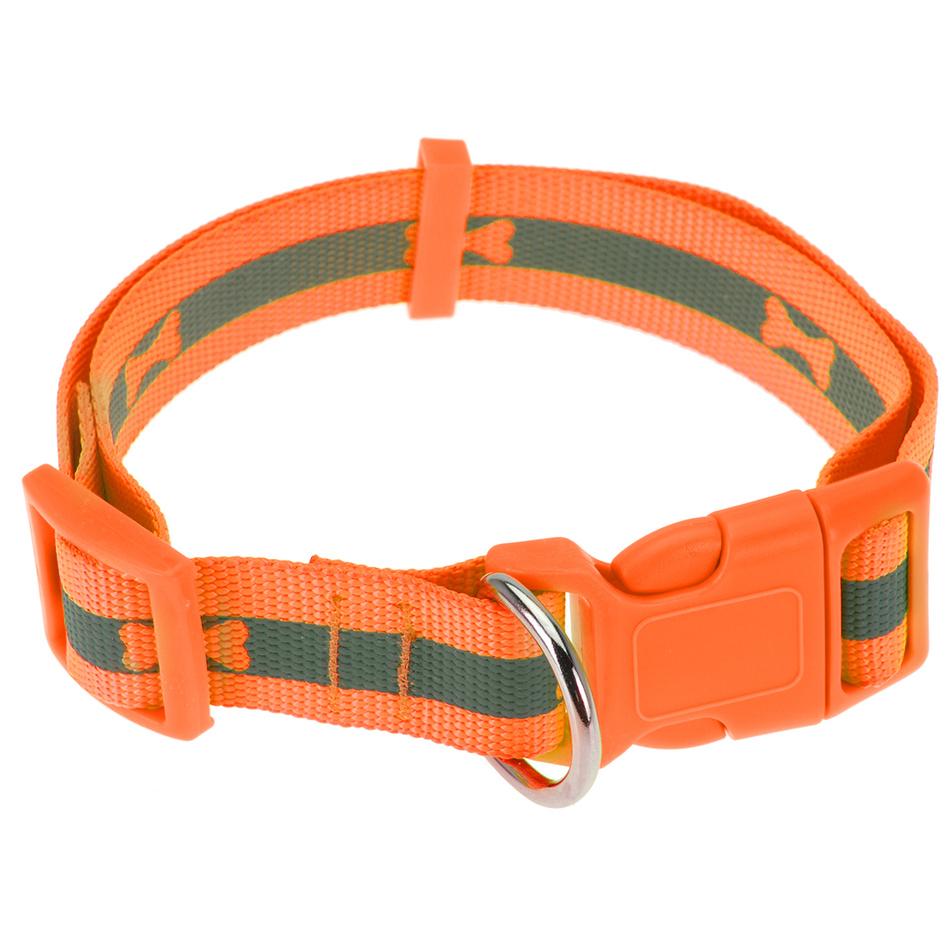 Zľava  Obojok pre psa Neon oranžová, veľ. L, L