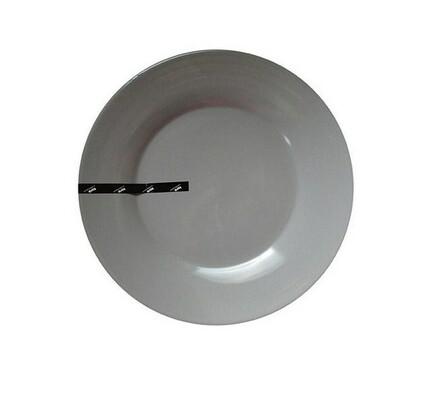 Toro Mělký talíř 27 cm šedá, 6 ks