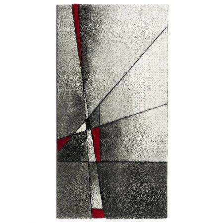 Dywan Brilliance czerwony, 200 x 290 cm