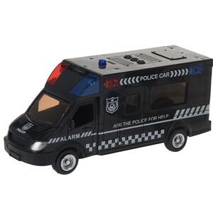 Policejní auto černá, 18 cm