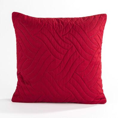 Povlak na polštářek Vigo červená, 40 x 40 cm