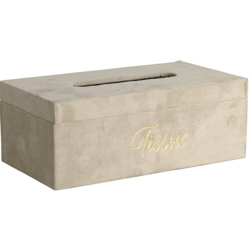 Koopman Box na kapesníky Palmeira, béžová