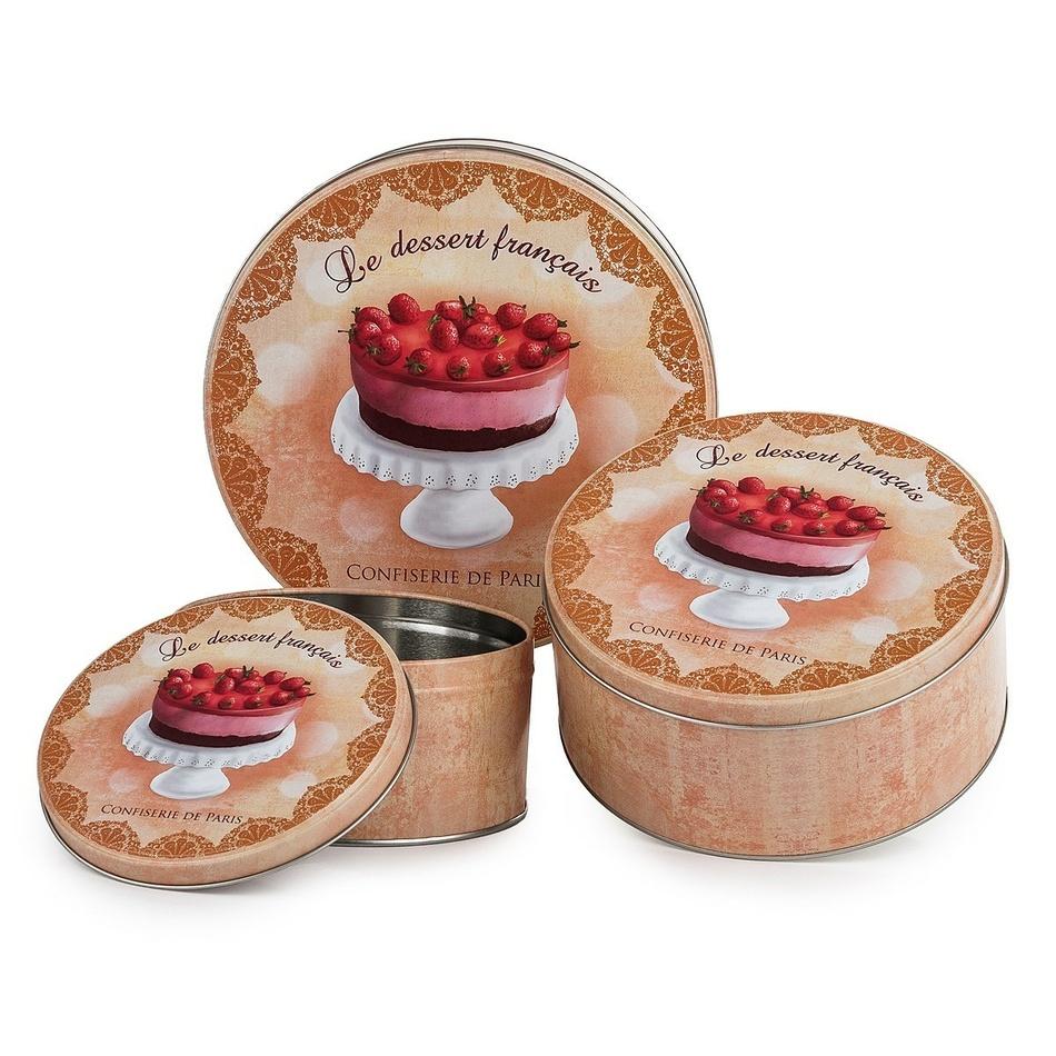 Delicious Le dessert francais 3dielna sada dóz,