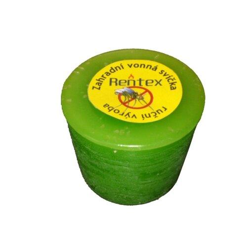 Záhradná sviečka repelentná valec, meduňka,