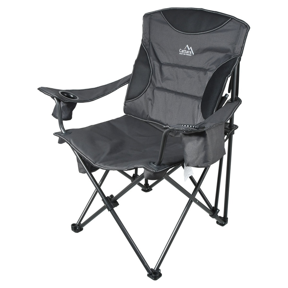 Cattara Židle kempingová skládací MERIT XXL 101cm