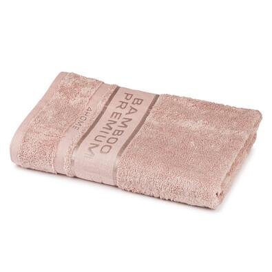 Prosop corp 4Home Bamboo Premium roz,  70 x 140 cm