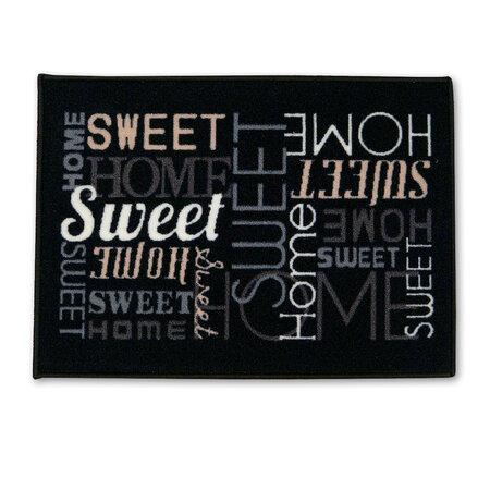 Vonkajšia rohožka Sweet home, 50 x 70 cm