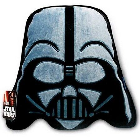 Cure Pink Tvarovaný polštářek Star Wars Darth Vader 3D, 34 x 37 cm