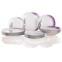Banquet 18-dielna jedálenská súprava Lavender