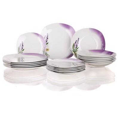 Banquet 18dílná jídelní sada Lavender