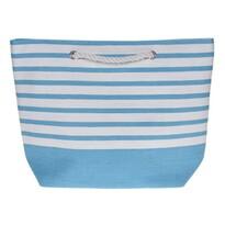 Plážová taška Stripes 52 x 38 cm, modrá
