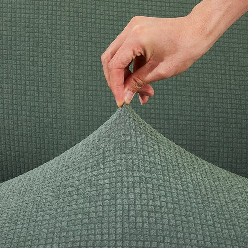 Husă multielastică impermeabilă canapea 4HomeMagic clean verde, 190 - 230 cm