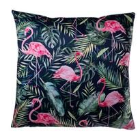 Flamingo leveles párnahuzat, 40 x 40 cm
