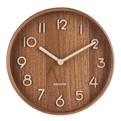 Karlsson 5808DW Stylowy zegar ściennyśr. 22 cm