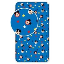 Dziecięce prześcieradło bawełniane Mickey 04, 90 x 200 cm