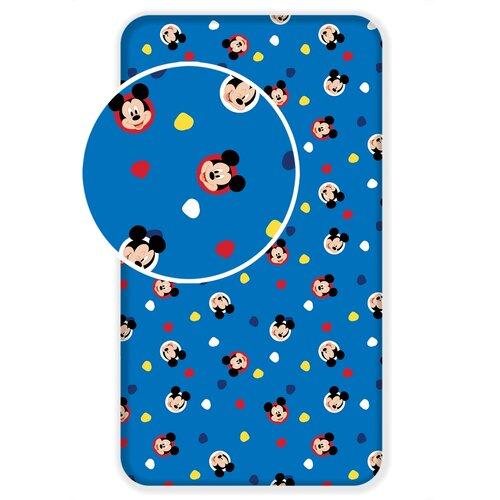 Dětské bavlněné prostěradlo Mickey 04, 90 x 200 cm
