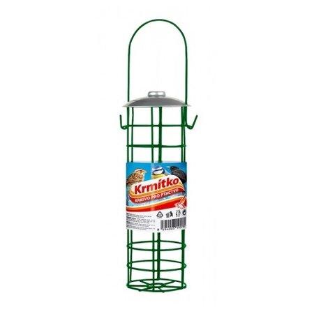 Rezervor metalic pentru hrană de păsări