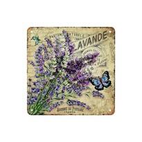 Tablou pe placă Bouquet de Provence, 20 x 20 cm