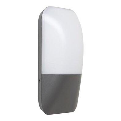 Rabalux 7996 Ecuador Vonkajšie LED nástenné svietidlo, sivá