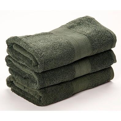 Ručník Egyptian Soft zelená, 50 x 90 cm