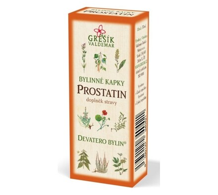 Bylinné kapky Grešík Prostatin 50 ml