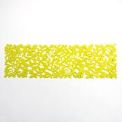 Běhoun plstěný zelený, 100 x 30 cm