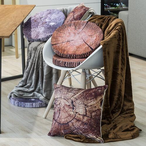 Obliečka na vankúšik Wood, 45 x 45 cm