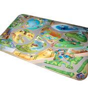 Dětský koberec Ultra Soft ZOO, 130 x 190 cm