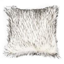Povlak na polštářek Claire černobílá, 45 x 45 cm