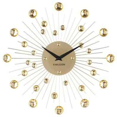 Karlsson 4860GD Designové nástěnné hodiny, 30 cm