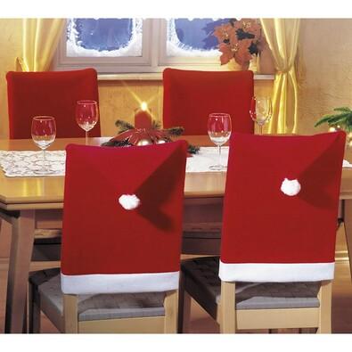 Vánoční povlaky na židle, 50 x 70 cm, sada 4 ks