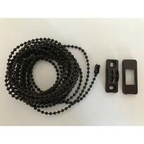 Lanț acționare pentru Mini roletă300 cm maro (inclusiv conectori)