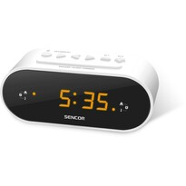 Sencor SRC 1100 W Radio cu ceas, alb