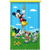 Detský záves Mickey & Minnie, 140 x 245 cm