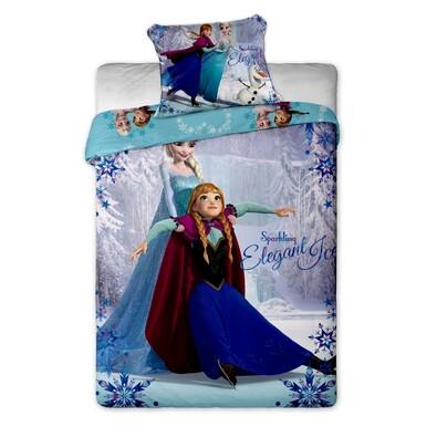 Dětské bavlněné povlečení Ledové Království Frozen 2015, 140 x 200 cm, 70 x 90 cm