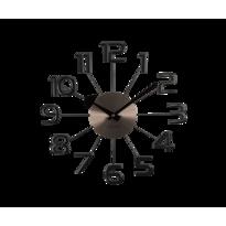 Nástěnné hodiny Lavvu Design Numerals LCT1042  antracitová, pr. 37 cm